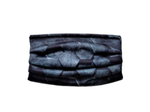 Korduvkasutatav kaitsemask tume muster filtreeriv näomask
