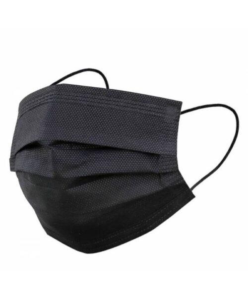 Must näomask must kaitsemask müük kaitsemaskide müük must meditsiiniline mask type IIR mask